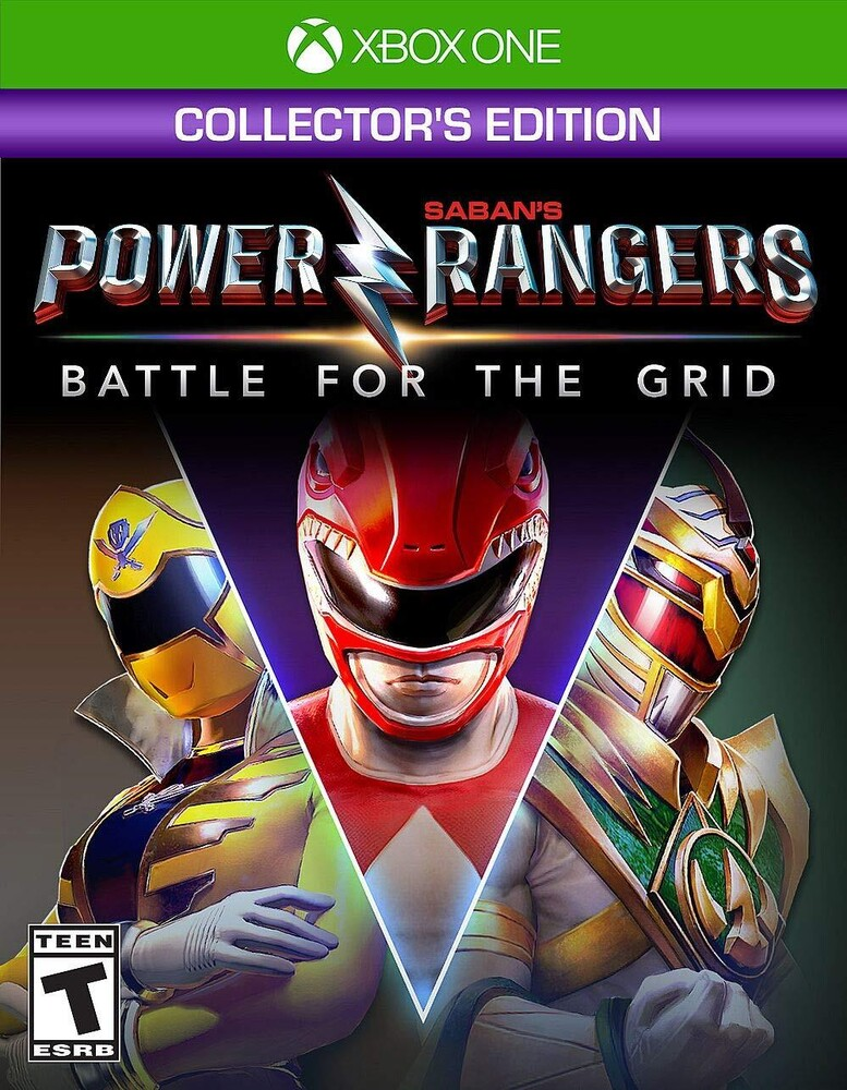 Xb1 Power Rangers: Battle for the Grid - Coll Ed - Xb1 Power Rangers: Battle For The Grid - Coll Ed