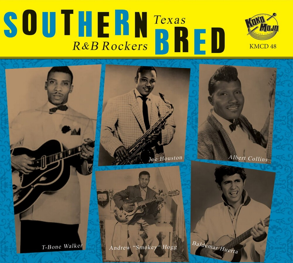 Southern Bred 10 Texas R&B Rockers / Various - Southern Bred 10 Texas R&b Rockers (Various Artists)
