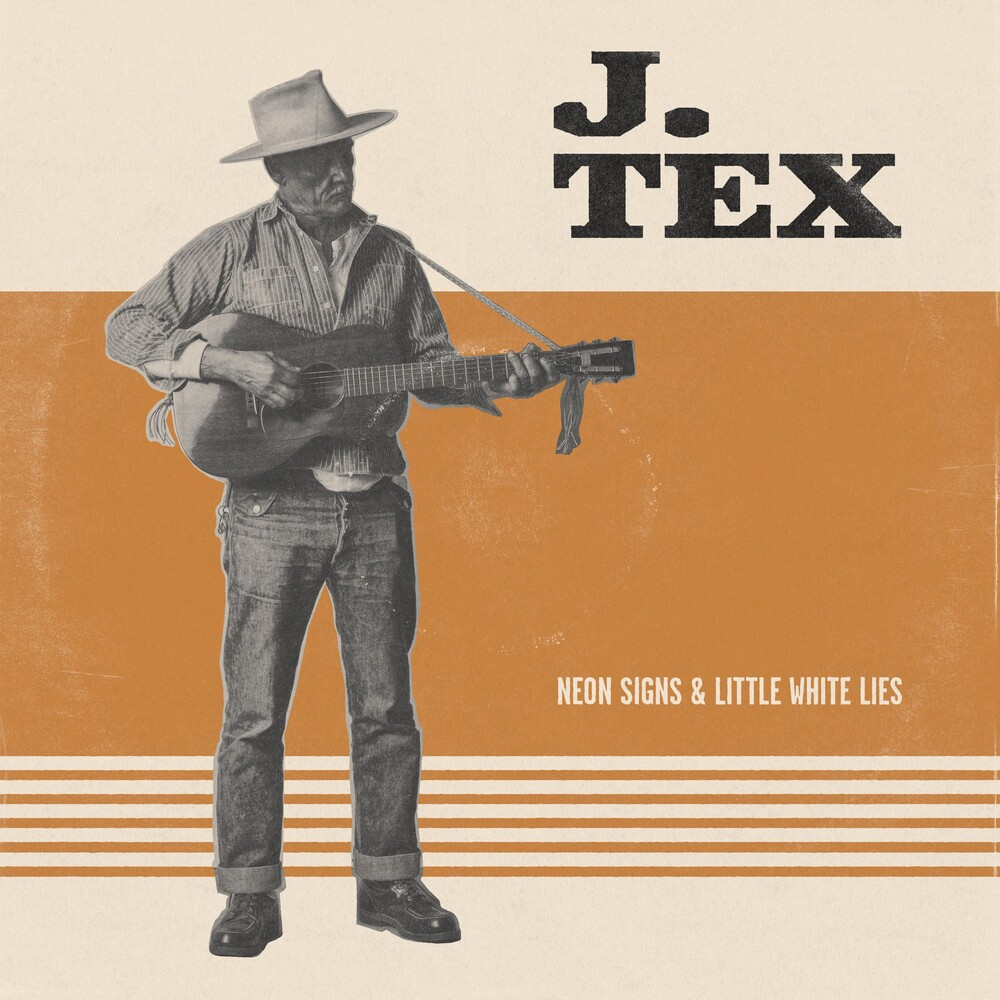 T Tex - Neon Signs & Little White Lies (Orange Vinyl)