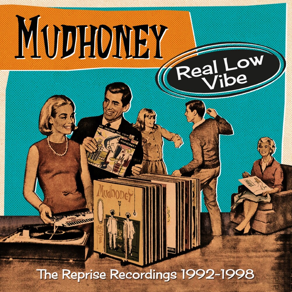 Mudhoney - Real Low Vibe: Reprise Recordings 1992-1998 (Uk)