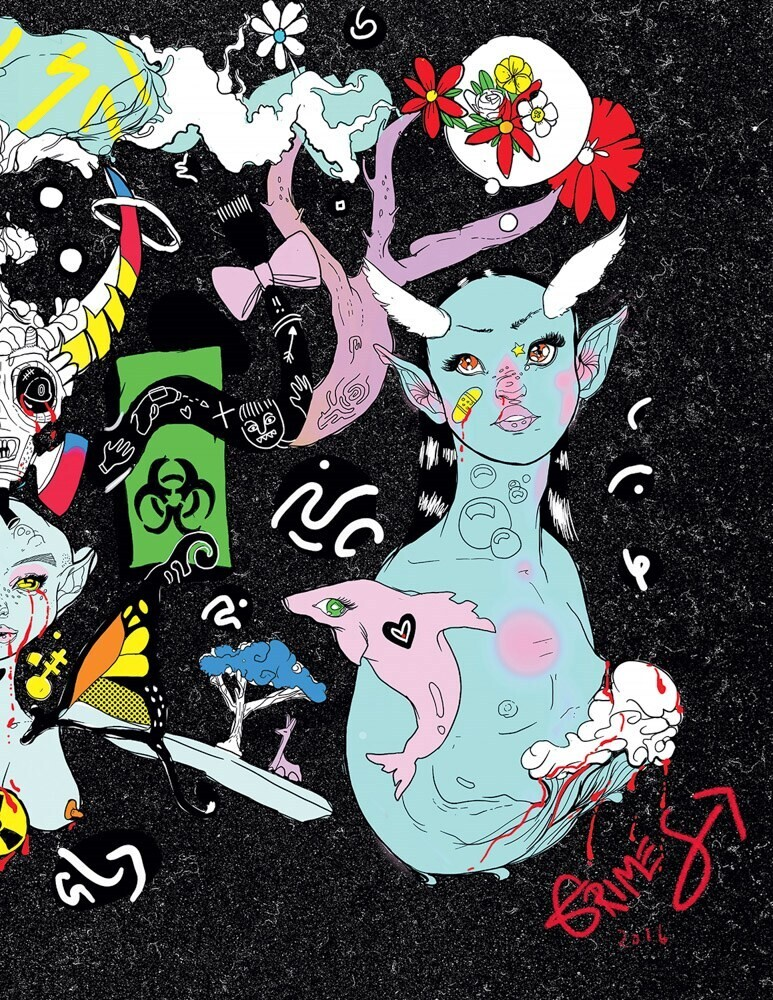 Grimes - Grimes: Miss Information, a Coloring Book
