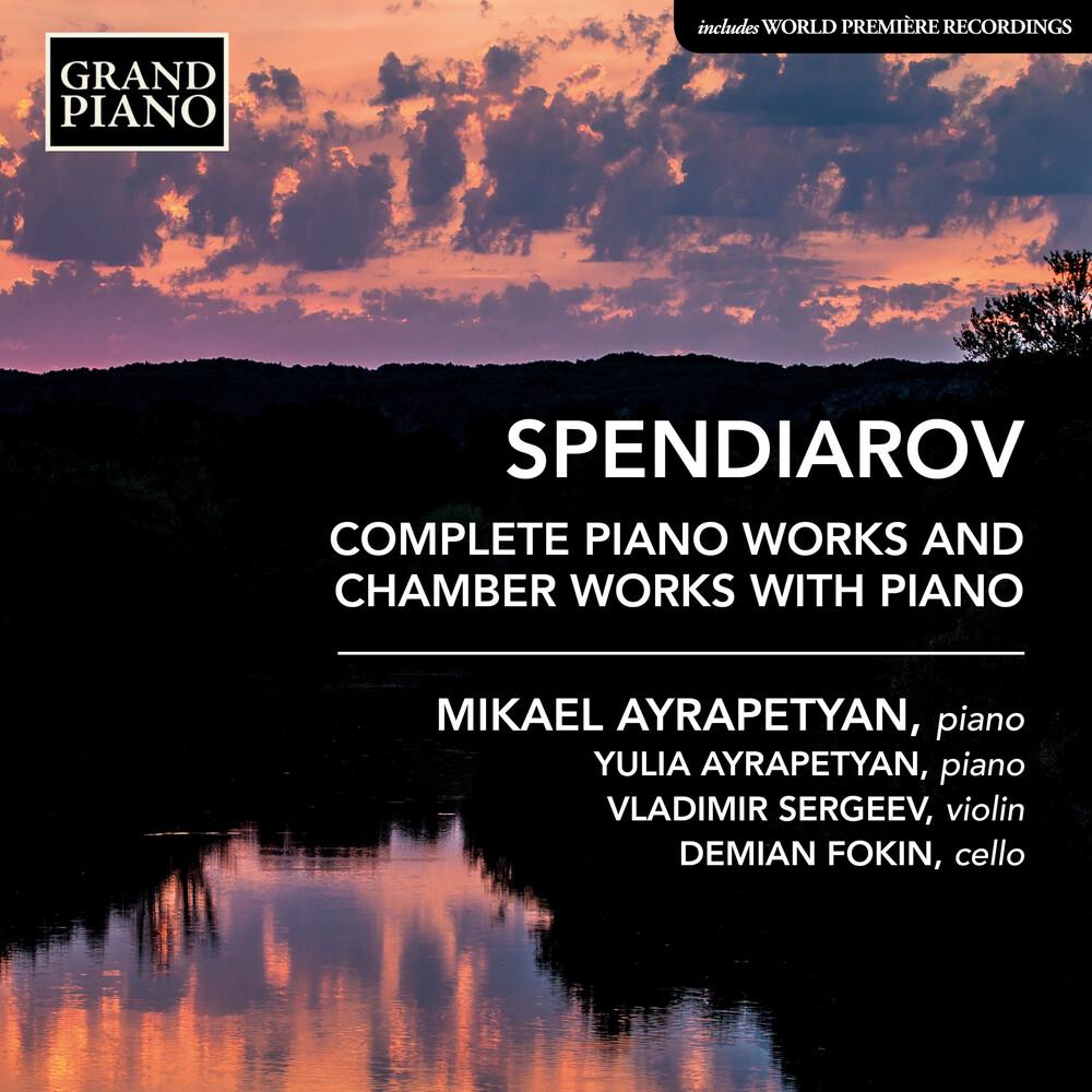 Spendiarov / Ayrapetyan - Complete Piano Works (2pk)