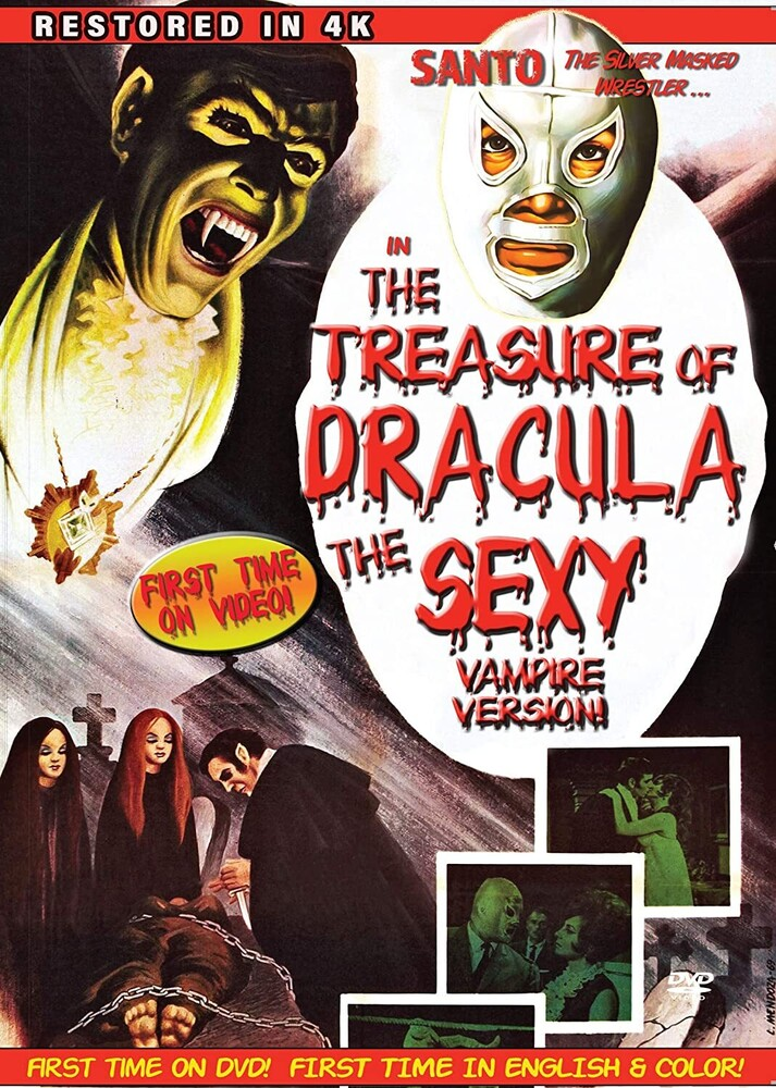 Santo in the Treasure of Dracula: The Sexy Vampire - Santo in the Treasure of Dracula (The Sexy Vampire)