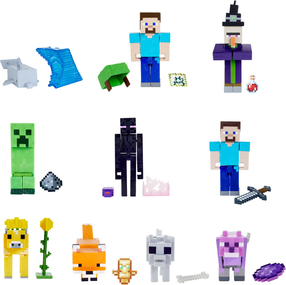 Minecraft - Mattel Collectible - Minecraft 3.25 Scale Figure Assortment