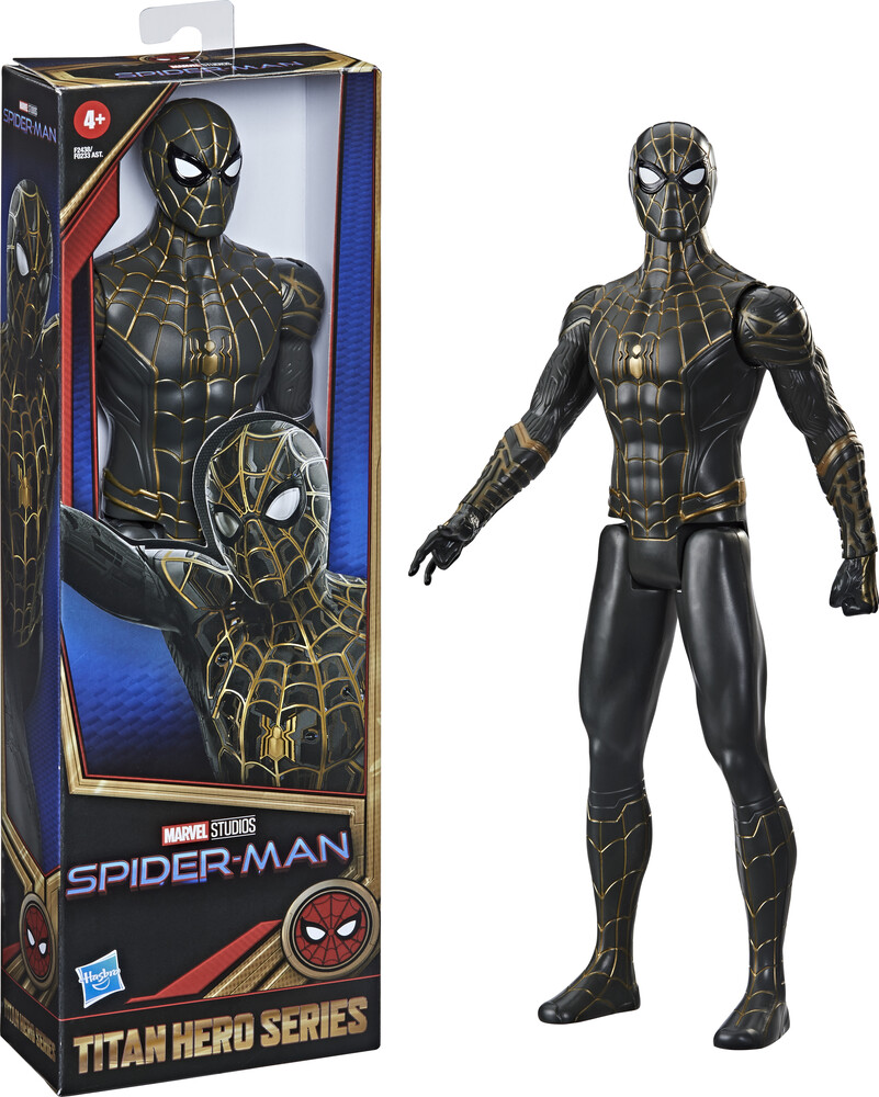 Spd Movie Titan Hero Ast - Hasbro Collectibles - Marvel Spider-Man Movie Titan Hero Assortment