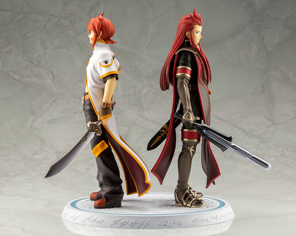 Tales of the Abyss Luke and Asch Meaning of Birth - Kotobukiya - Tales of the Abyss 15th Anniversary - Luke And Asch(Meaning Of Birth)