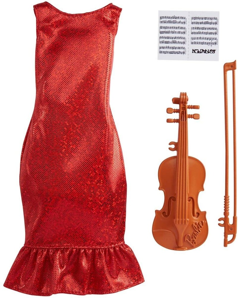 - Mattel - Barbie Career Violinist Fashion Pack