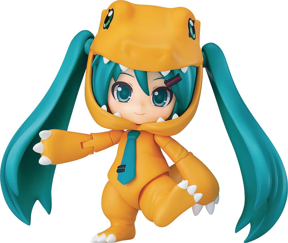 - Hatsune Miku Digimon Kigurumi Agumon Nendoroid Af