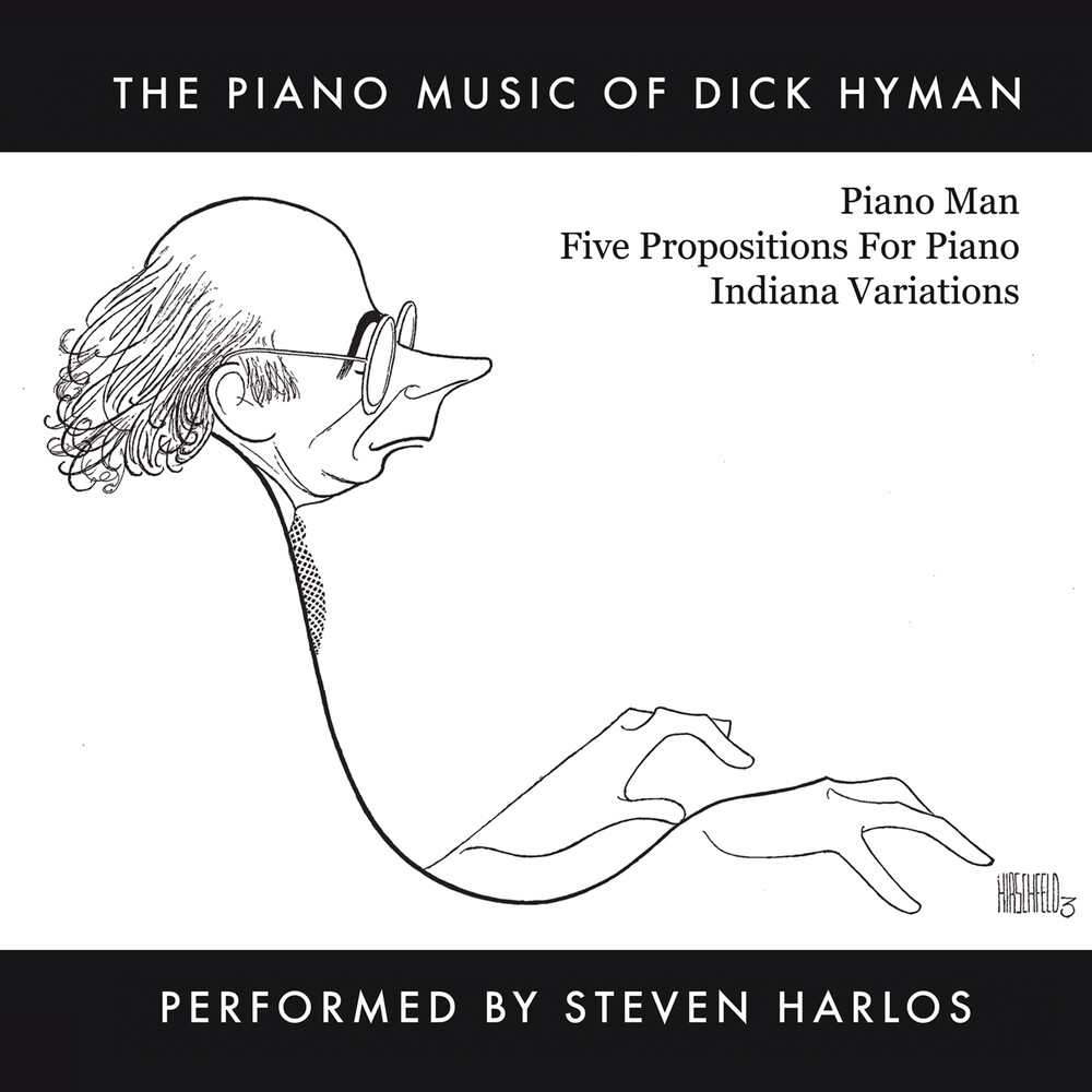 Dick Hyman  & Harlos,Steven - Piano Music Of Dick Hyman Performed By Steven