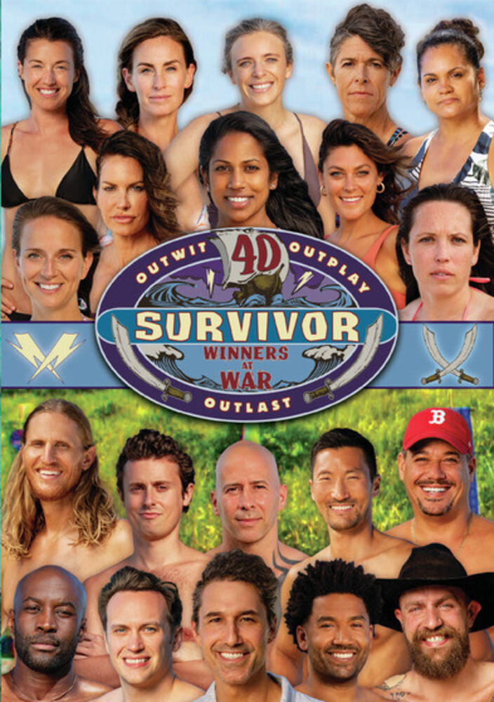 - Survivor: Winners At War (Season 40) (5pc) / (Mod)