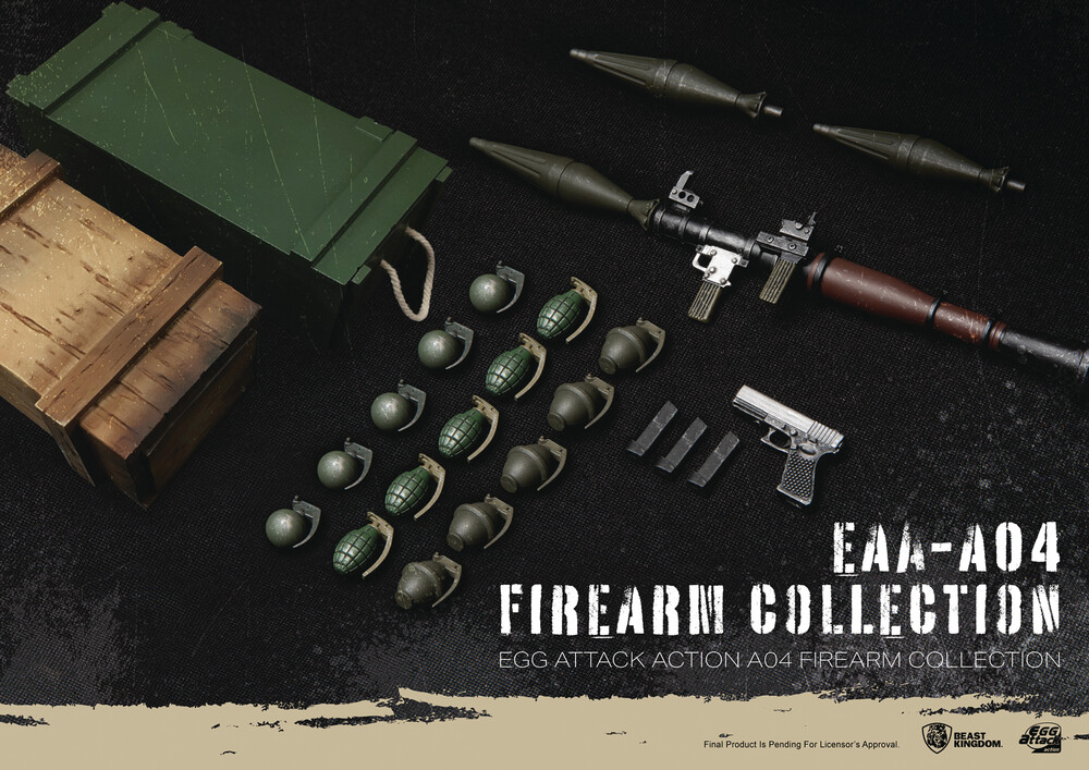 - Eaa-A04 Firearm Collection Action Figure Accessory