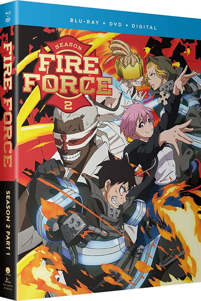 Fire Force: Season 2 Part 1 - Fire Force: Season 2 Part 1 (4pc) (W/Dvd) / (Box)
