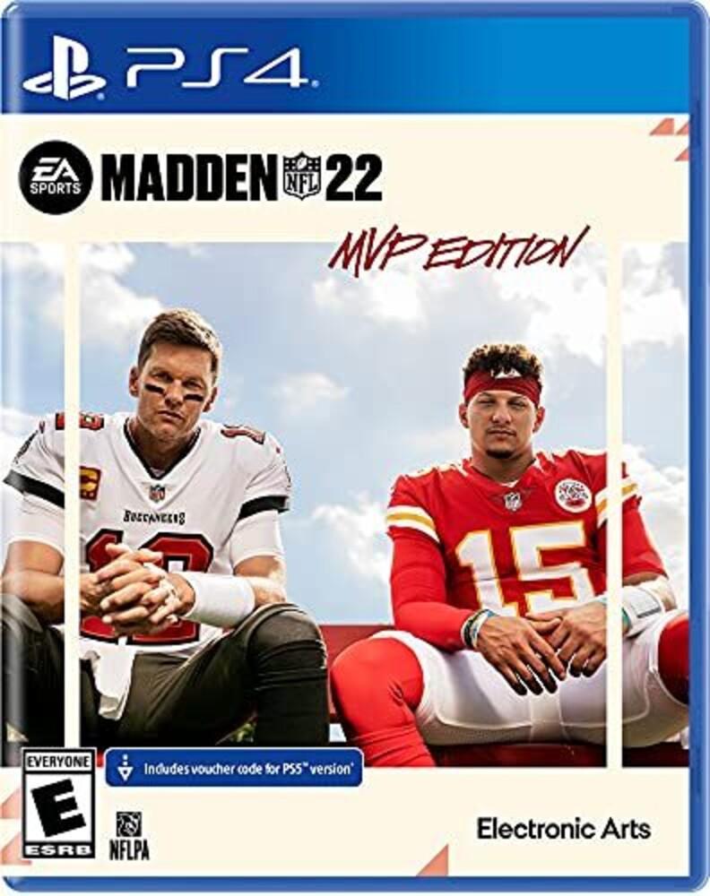 - Ps4 Madden Nfl 22 Mvp Preorder Ed