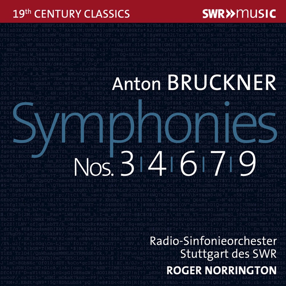 Bruckner / Norrington - Symphonies 3 4 6 7 & 9 (Box)