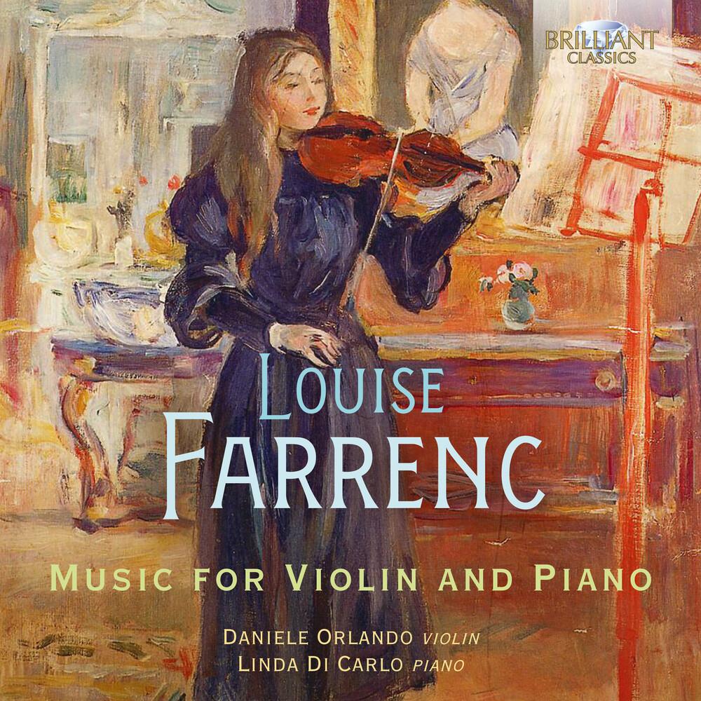 Farrenc / Orlando / Carlo - Music For Violin & Piano