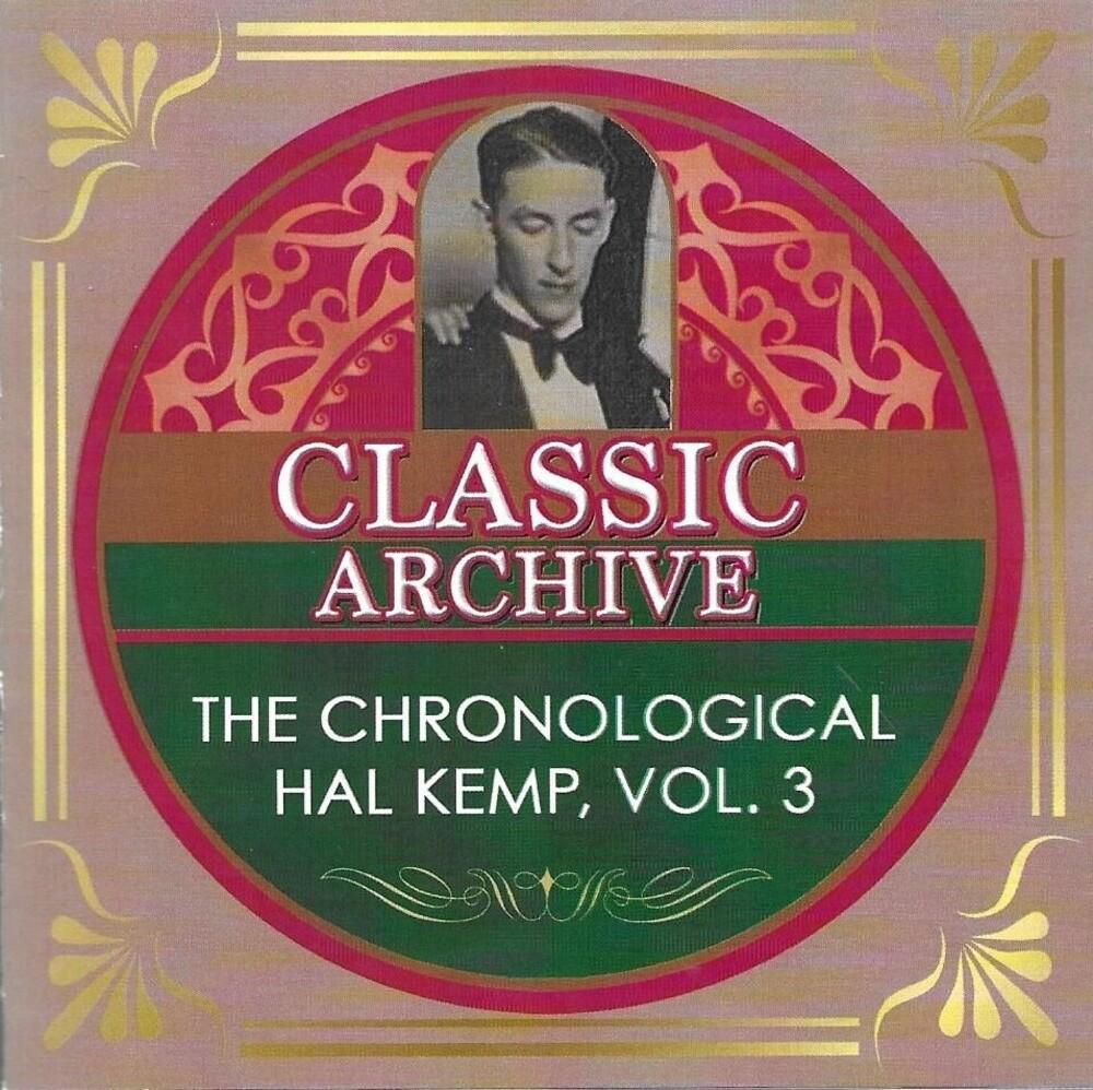 Hal Kemp - Chronological Hal Kemp Volume 3 1929-1931 (2pk)