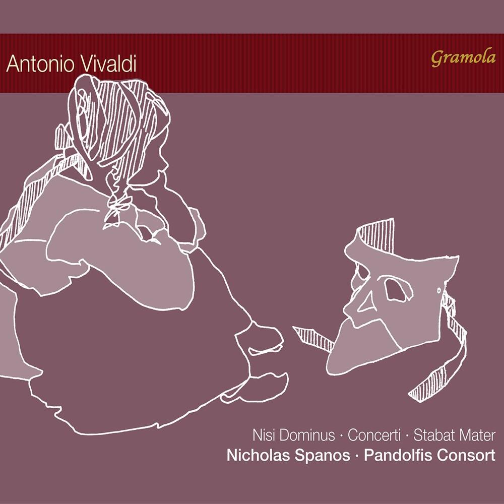 Vivaldi / Pandolfis Consort / Spanos - Works