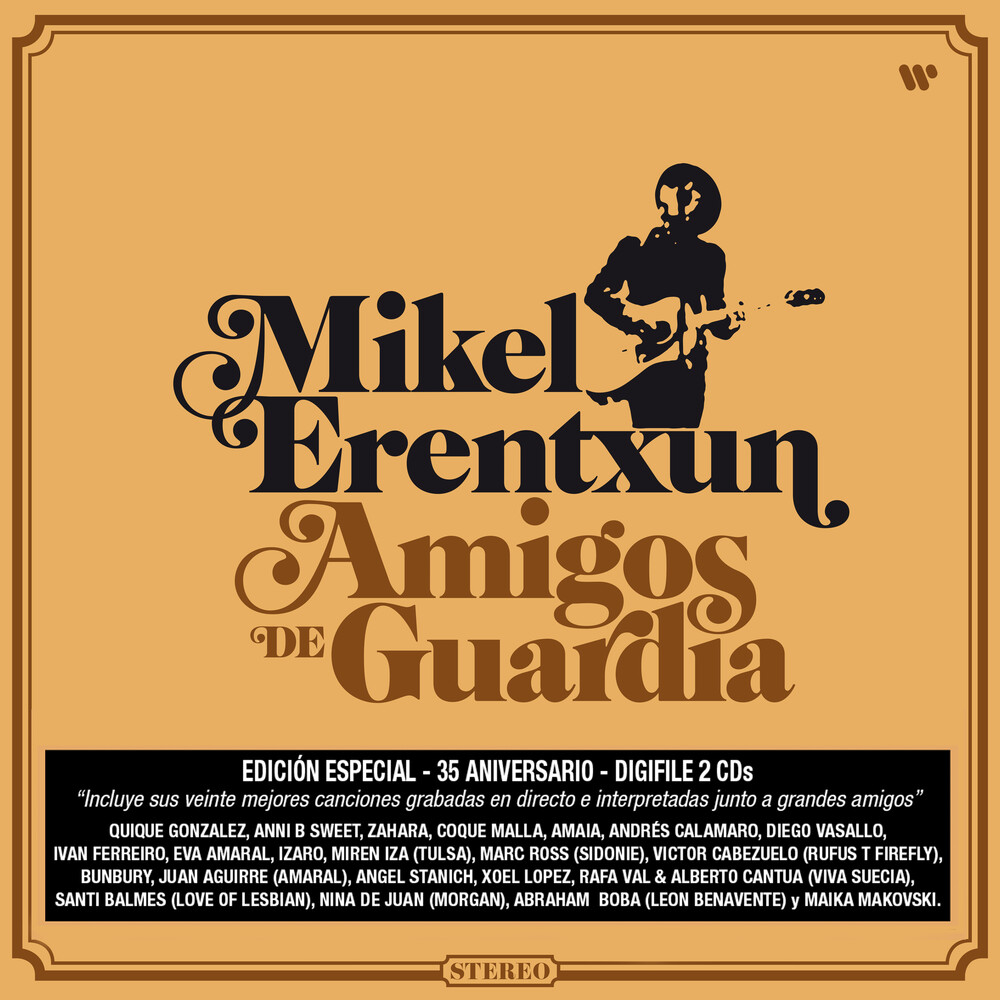 Mikel Erentxun - Amigos De Guardia (Gtrp) (Pcrd) (Auto) (Spa)