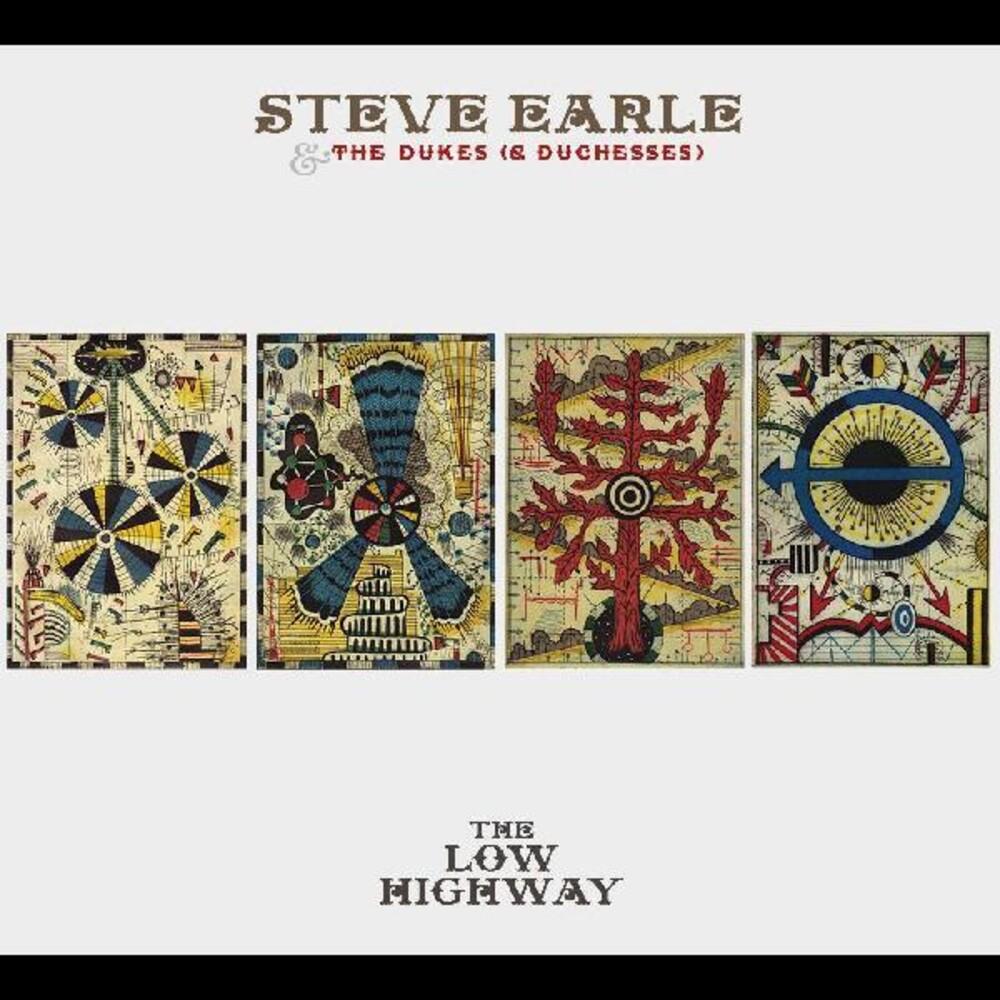 Steve Earle  & The Dukes (& Duchesses) - Low Highway [Colored Vinyl] (Crem)