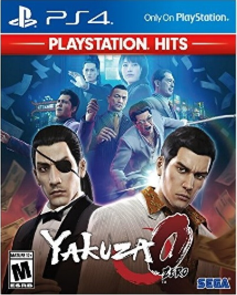 Ps4 Yakuza 0 - Yakuza 0 for PlayStation 4