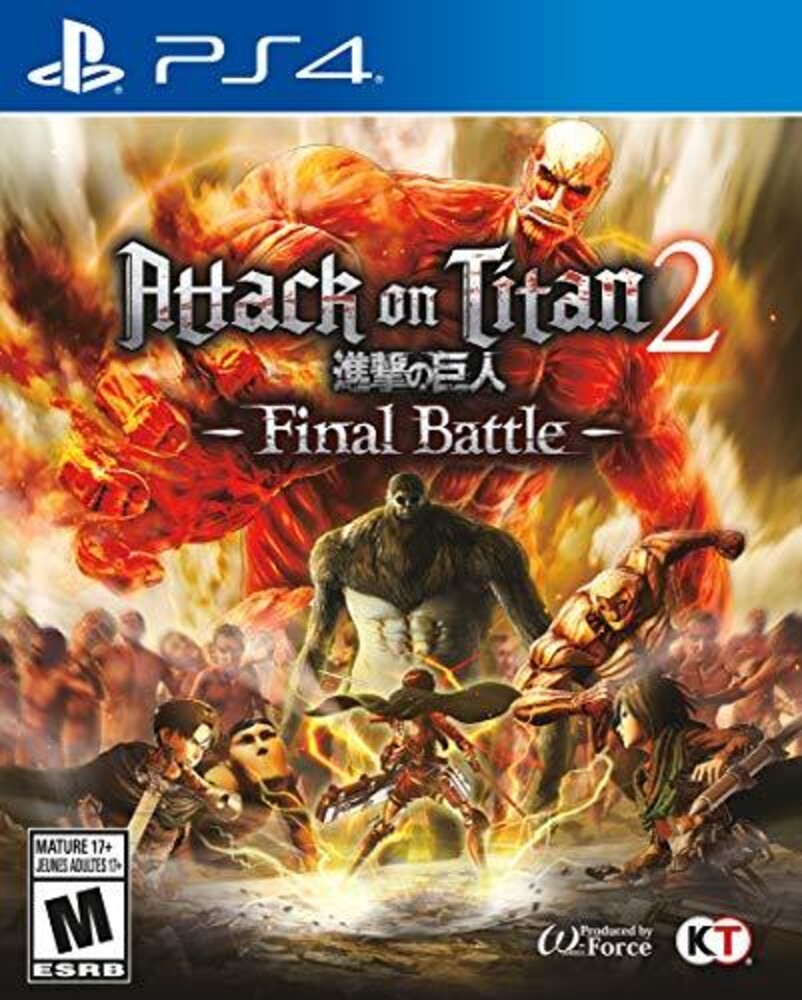 Ps4 Attack on Titan 2 Final Battle - Attack On Titan 2 Final Battle