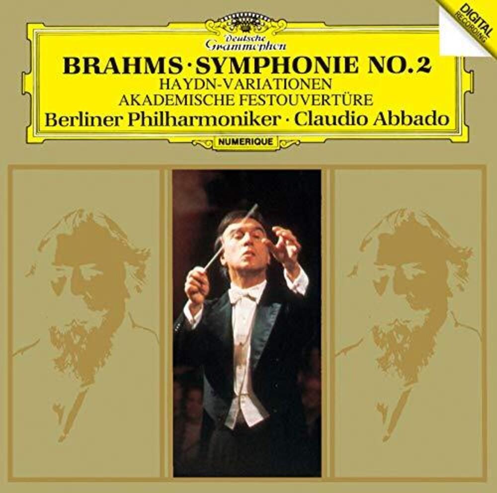 Brahms / Claudio Abbado - Brahms: Symphony 2 / Haydn Variations Etc [Limited Edition]
