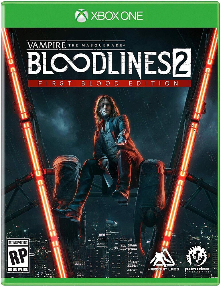 - Xb1 Vampire: Masquerade Bloodlines 2 First Blood