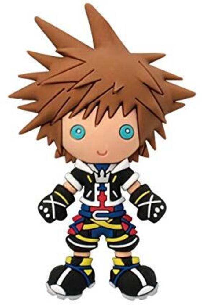 Kingdom Hearts - Sora 3D Foam Magnet - Kingdom Hearts - Sora 3D Foam Magnet