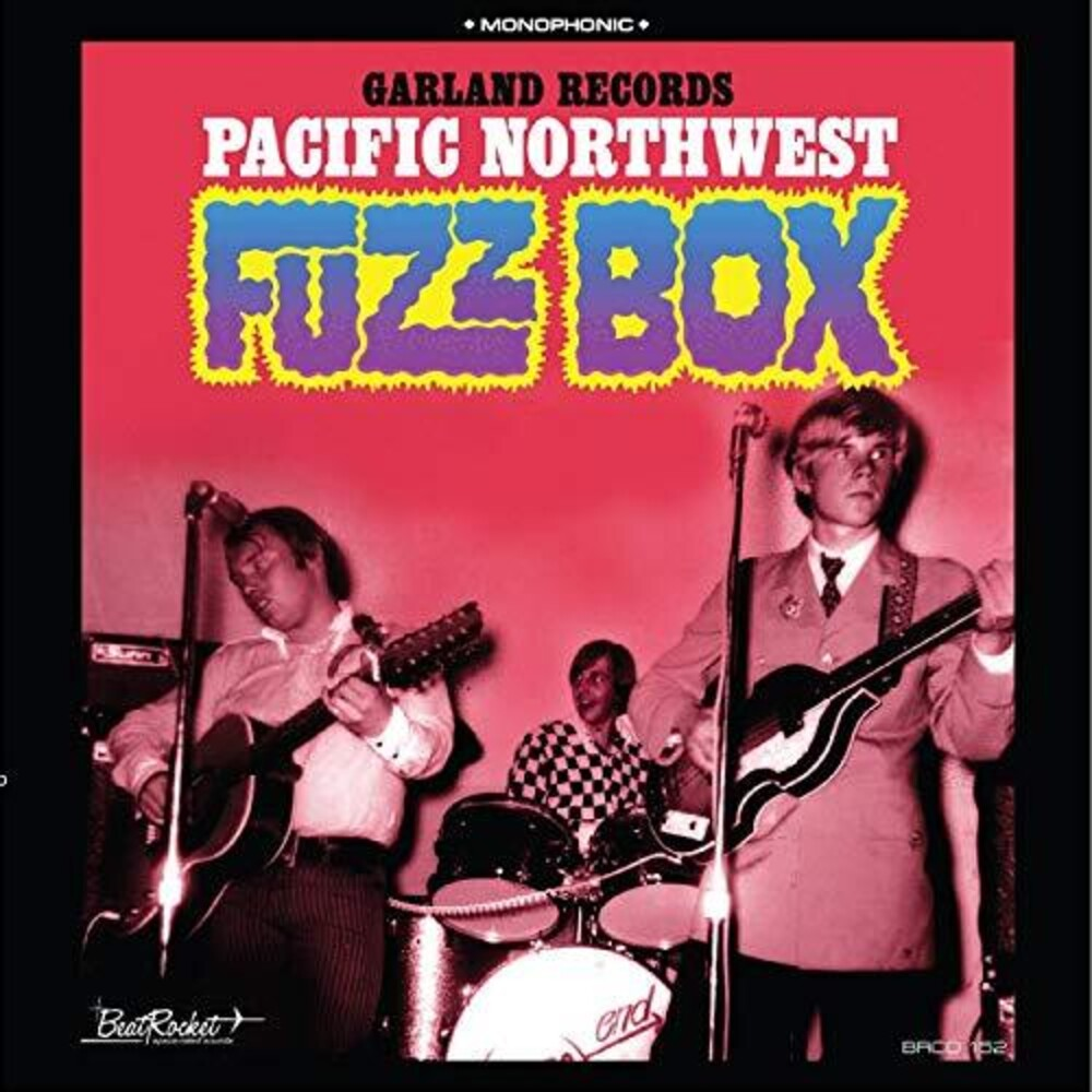 Garland Records - Pacific Northwest Fuzz Box (Blue) [Colored Vinyl]