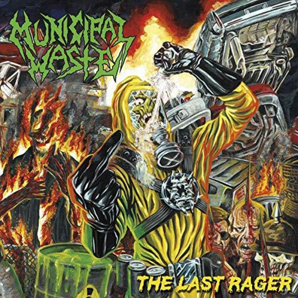 Municipal Waste - The Last Rager [Yellow/Blue Splatter LP]
