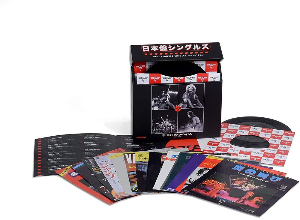 Van Halen - The Japanese Singles 1978-1984 [7in Vinyl Box Set]