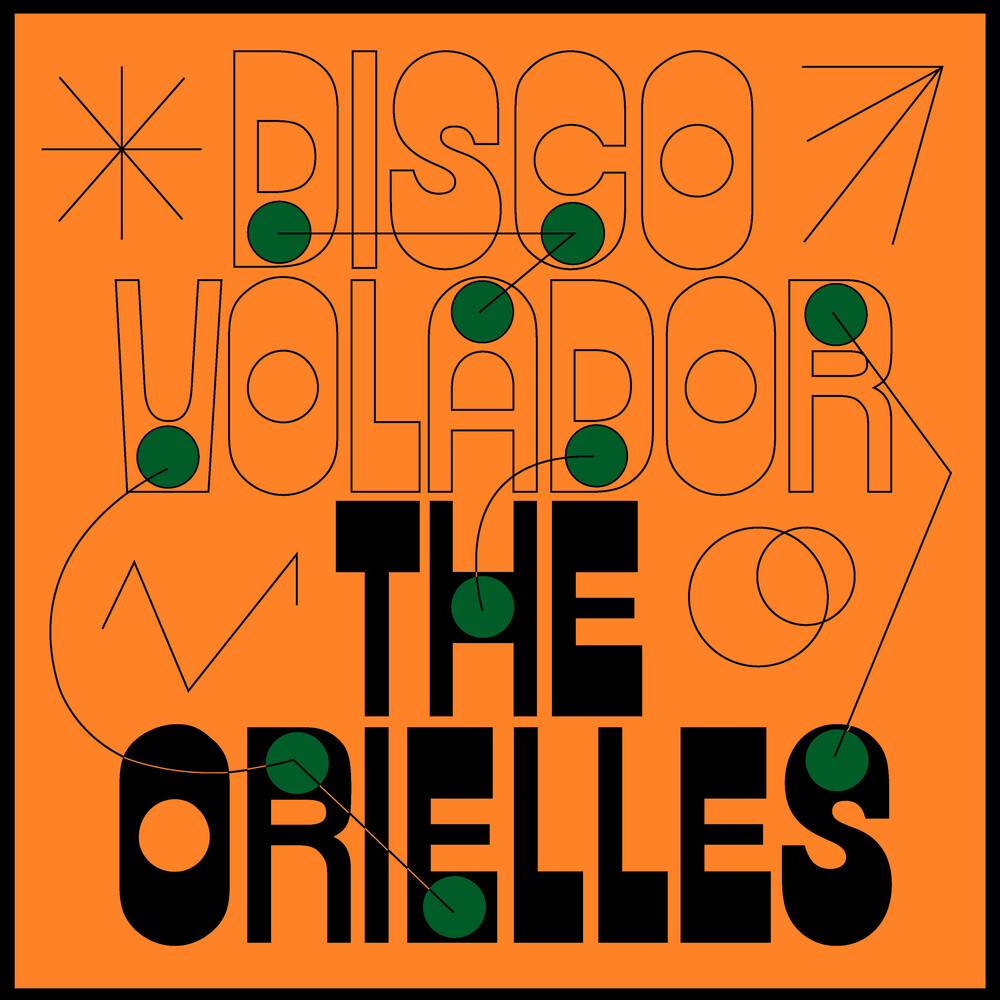 The Orielles - Disco Volador [Limited Edition Green LP]