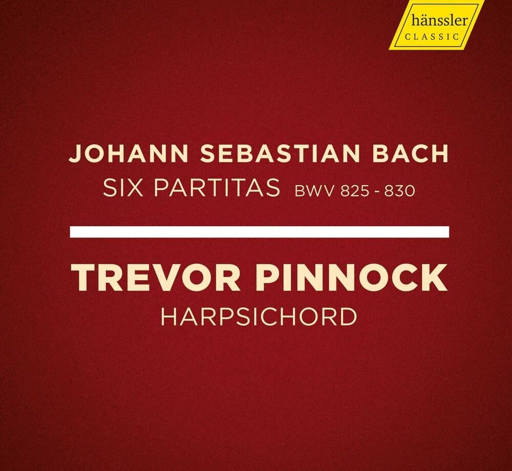 Trevor Pinnock - Six Partitas 825-830