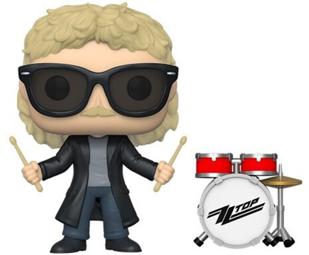 - FUNKO POP! ROCKS: ZZ Top - Frank Beard