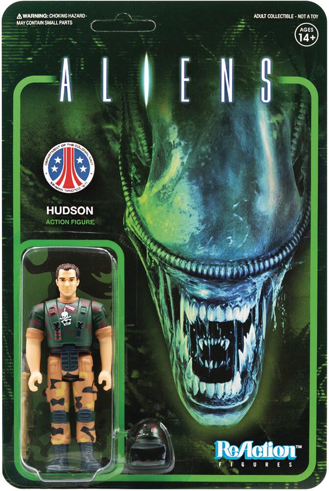 Aliens Reaction Figure - Hudson - Aliens ReAction Figure - Hudson