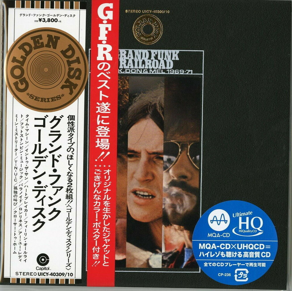 Grand Funk Railroad - Mark Don & Mel 1969-1971 (Jmlp) (Ltd) (Dsd) (Hqcd)