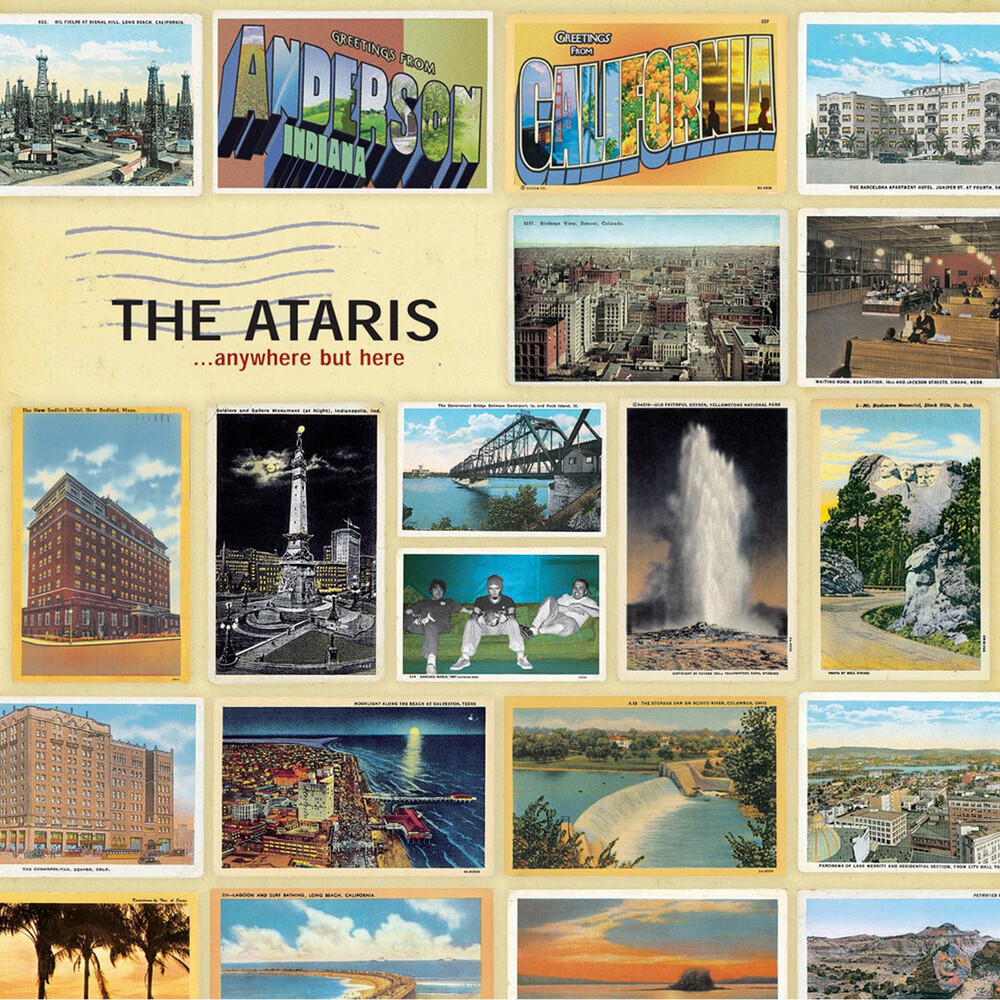 The Ataris - Anywhere But Here [Limited Edition] (Red) [Reissue]