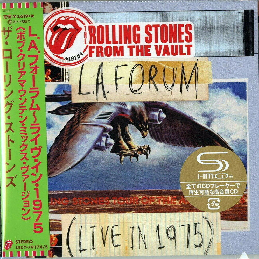 The Rolling Stones - From The Vault: La Forum (Live In 1975) (Jmlp)