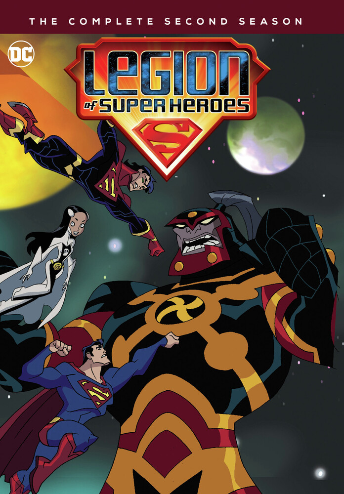 - Legion Of Super Heroes: Complete Second Season