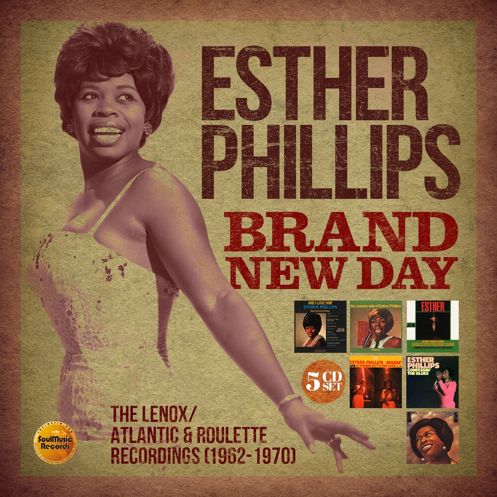 Esther Phillips - Brand New Day: Lenox / Atlantic & Roulette (Box)