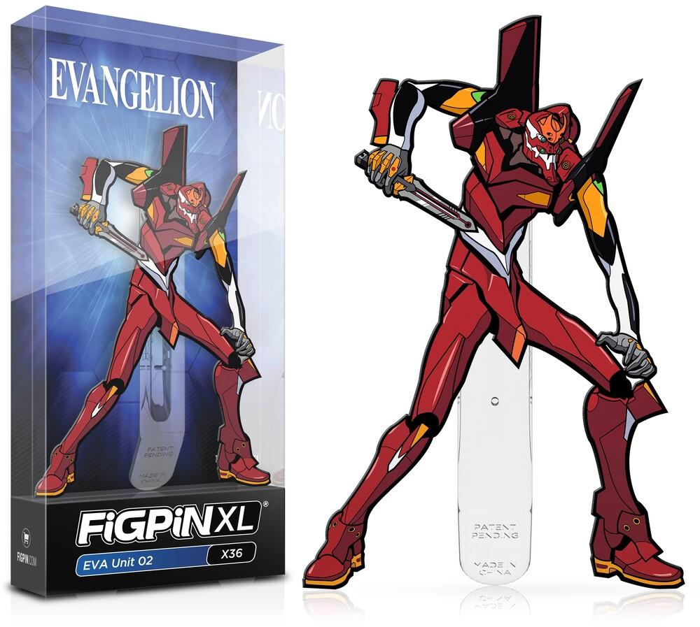 Evangelion: Eva 02 Figpin #X36 - FiGPiN - Evangelion - Eva 02 #X36