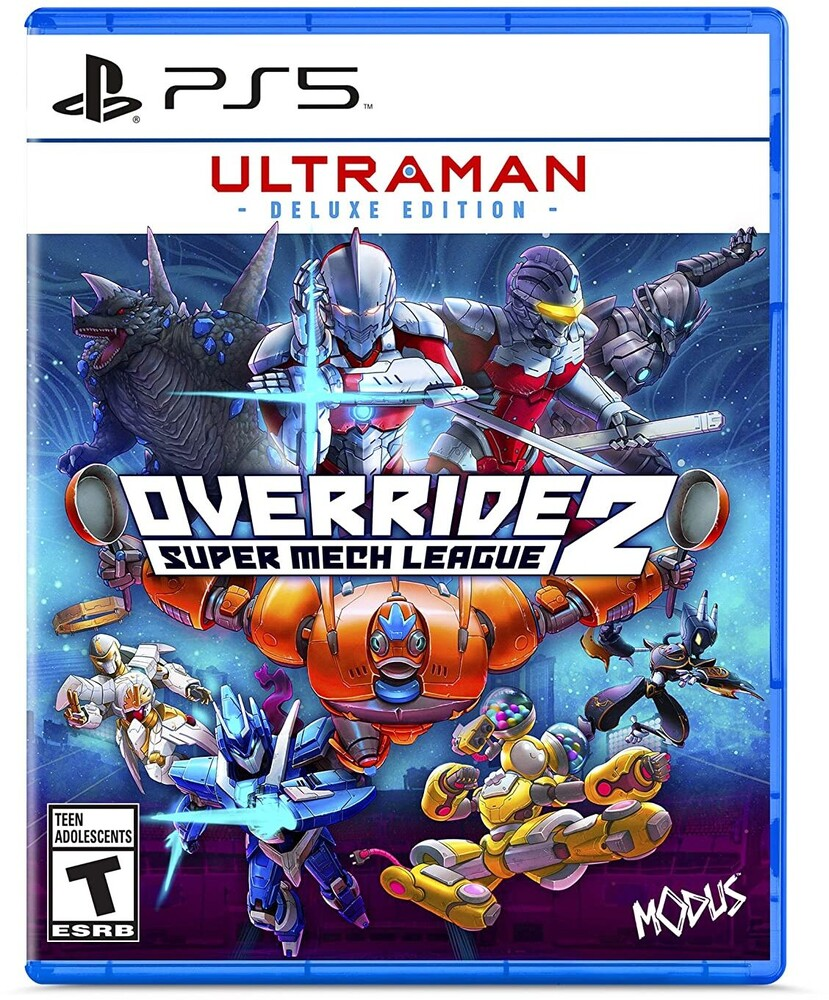 Ps5 Override 2: Ultraman Deluxe Edition - Override 2 Deluxe Edition for PlayStation 5