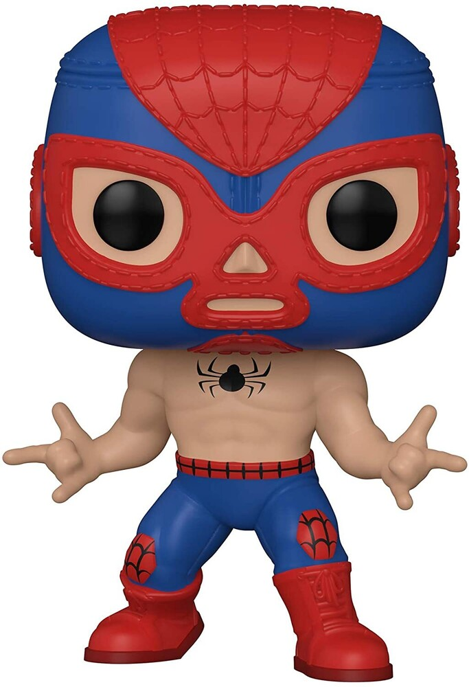 Funko Pop! Marvel: - FUNKO POP! MARVEL: Luchadores- Spider-Man