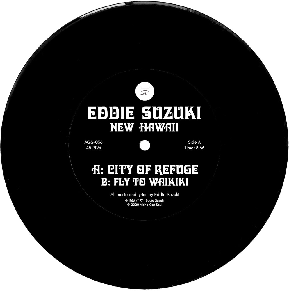 Eddie Suzuki - City Of Refuge (Blk)
