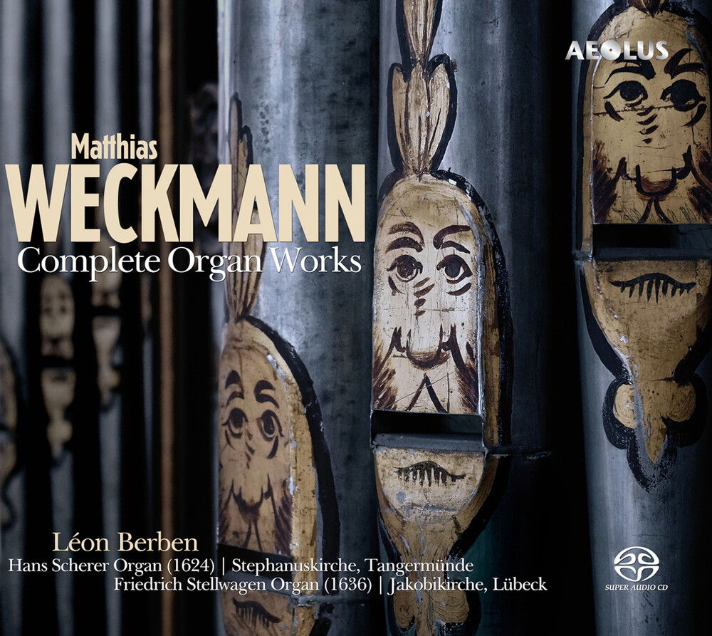 Weckmann / Berben - Complete Organ Works (Hybr) (2pk)