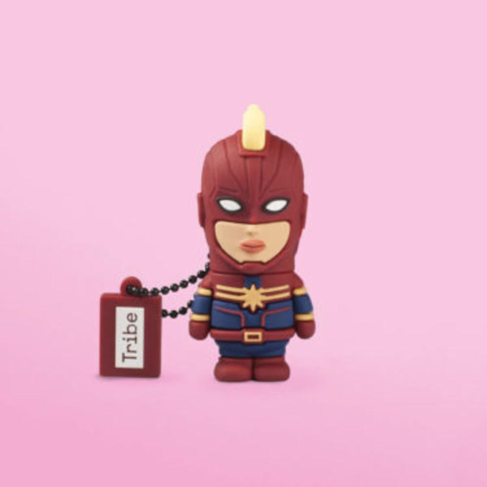 - Tribe Marvel Captain Marvel 16 GB USB Flash Drive