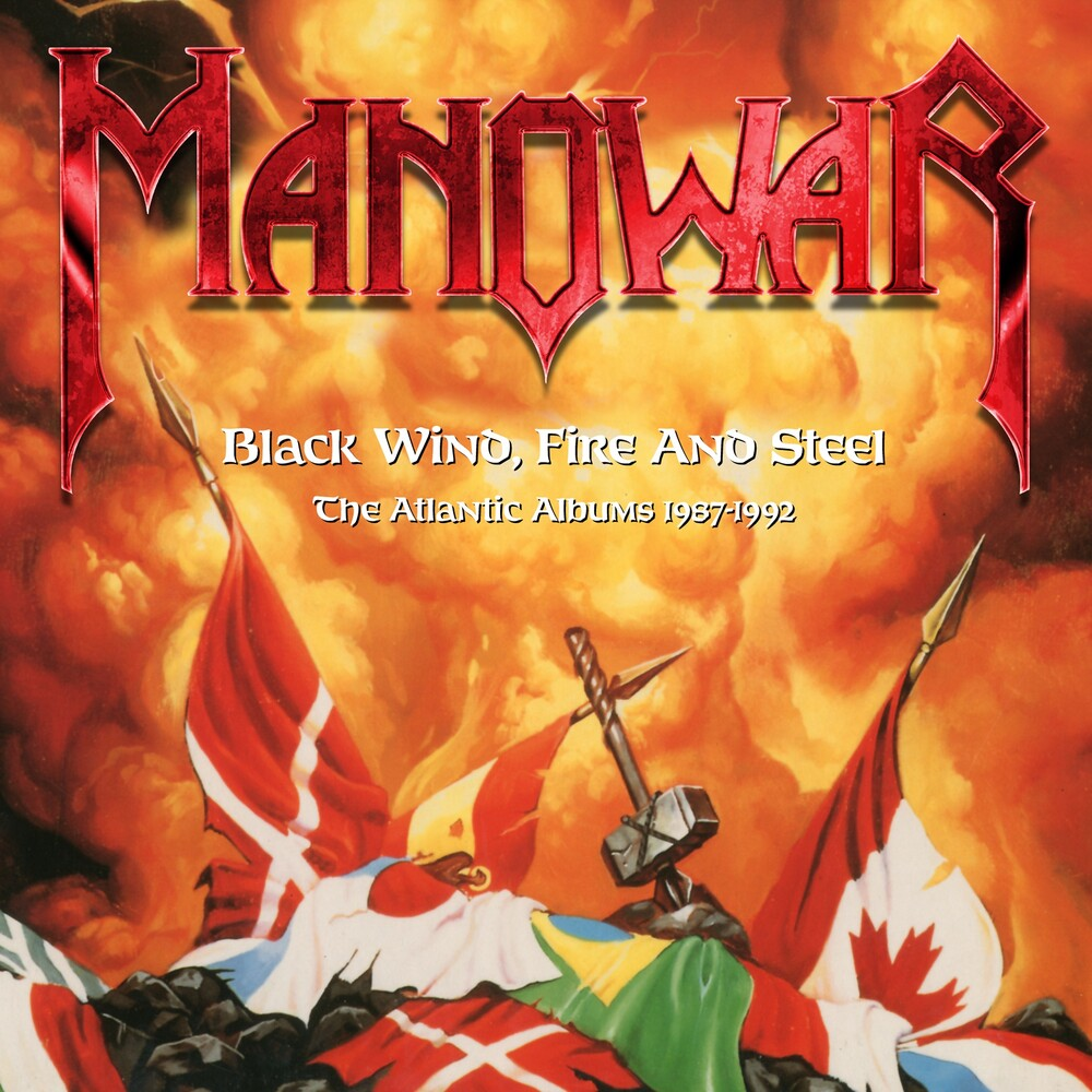 Manowar - Black Wind, Fire & Steel: Atlantic Albums 1987-1992
