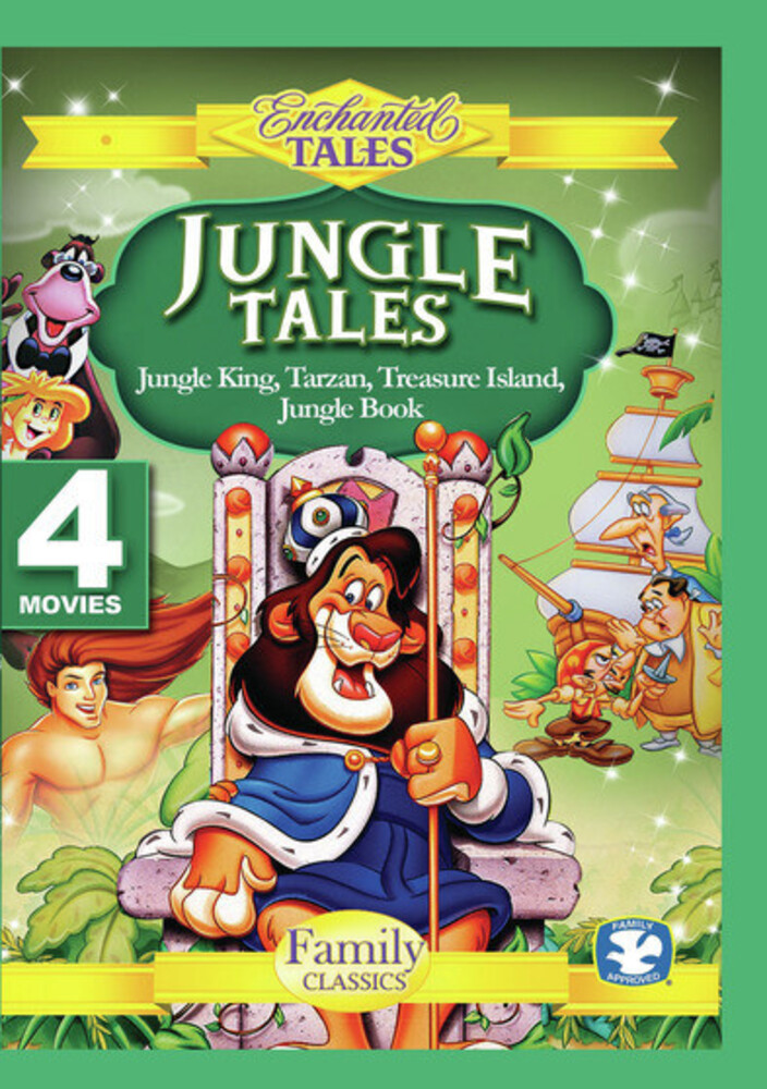 - Jungle Tales: Tarzan / Jungle King / Jungle Book