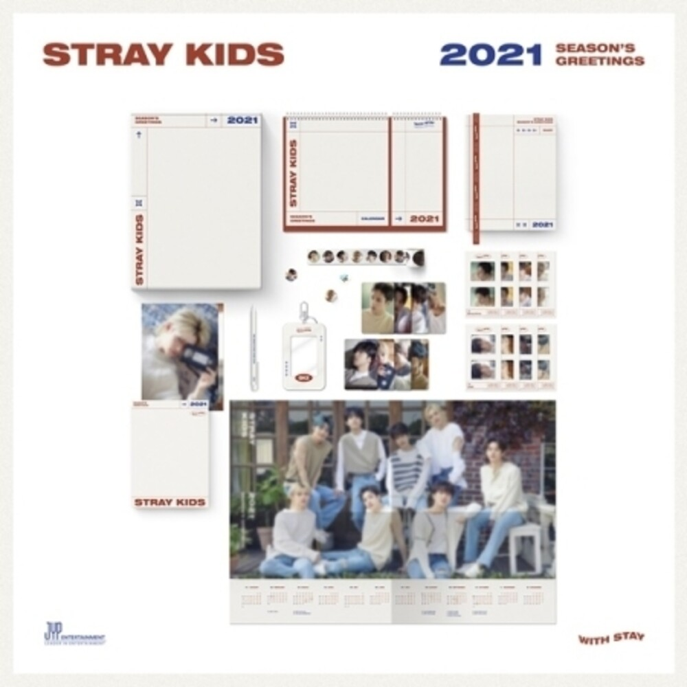 Stray Kids - 2021 Season's Greetings (incl. Calendar, Diary, Postcard Book, Photocard Case, Sticker Roll, Bookmark Set, Ball Pen + Poster Cal