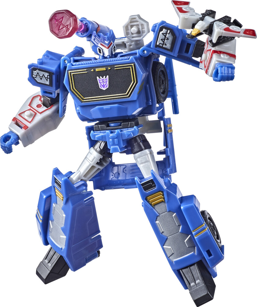 - Tra Cyberverse Deluxe Soundwave (Afig) (Clcb)